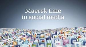 maersk line social media