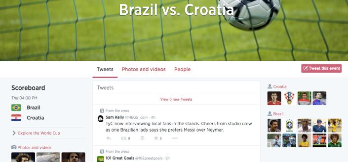 Brazil World Cup - Twitter