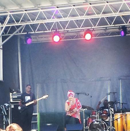 Lorraine Klaasen plays Toronto Jazz Festival