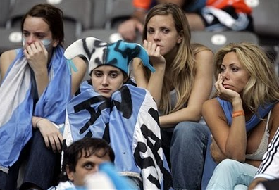 Argentina Fans Crying - from Jonathan Fun